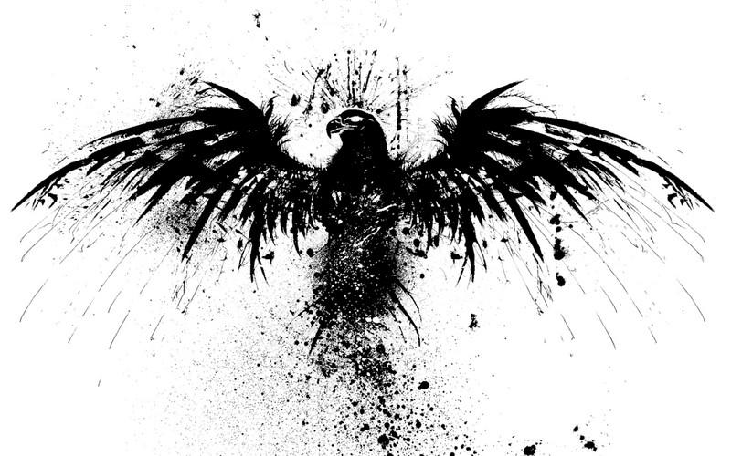 Free eagle-splatter.jpg phone wallpaper by joe_scotty