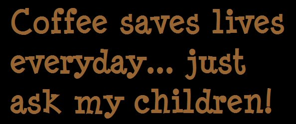 Free Coffee Saves Lives phone wallpaper by rftaunton