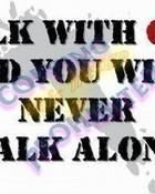 Walk with god wallpaper 1
