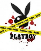 crime scene playboy wallpaper 1