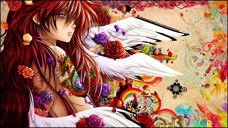 Free ;} FUNimation ;} phone wallpaper by featherashi3