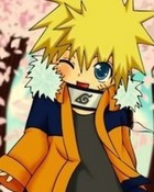 Cherry Blossoms with Naruto