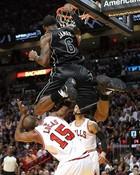 LeBron dunk over John Lucas III