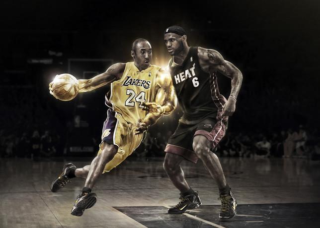 Free Kobe & LeBron.jpg phone wallpaper by donovanclyde