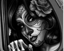 Free Day of The Dead phone wallpaper by cheryl097
