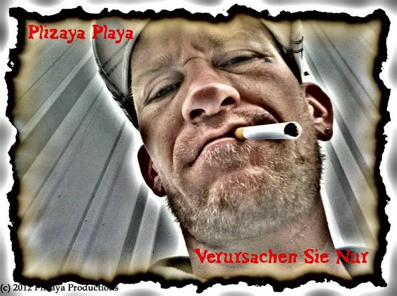 Free Plizaya Playa VSN Album Cover phone wallpaper by Plizaya