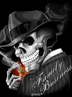 Free Skull phone wallpaper by xjuliex