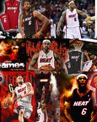 LeBron collage