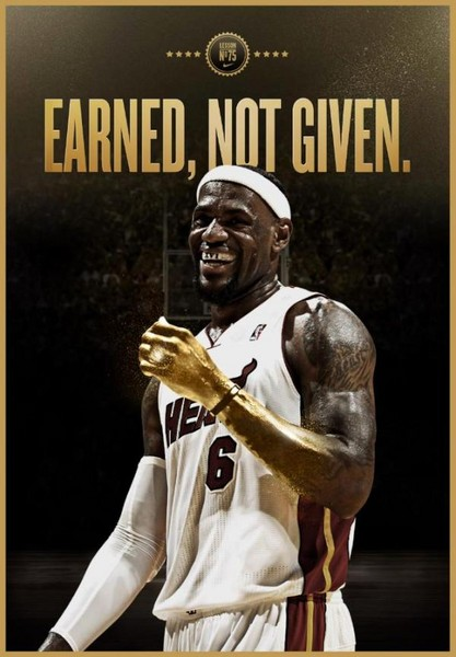 Free LeBron Earned.jpg phone wallpaper by donovanclyde