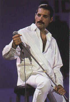 Free Freddie Mercury phone wallpaper by missalioop