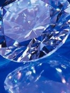 Free Diamond-in-Blue-Background-iPhone-Wallpaper-Download.jpg phone wallpaper by bluepillow