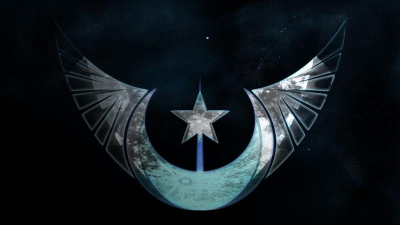 Free The New Lunar Republic emblem phone wallpaper by david316