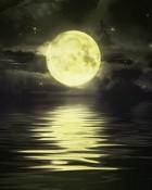 Moon Reflection wallpaper 1