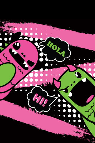 Free So So Happy Taco phone wallpaper by violetviolin