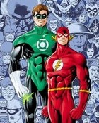 green lantern/flash