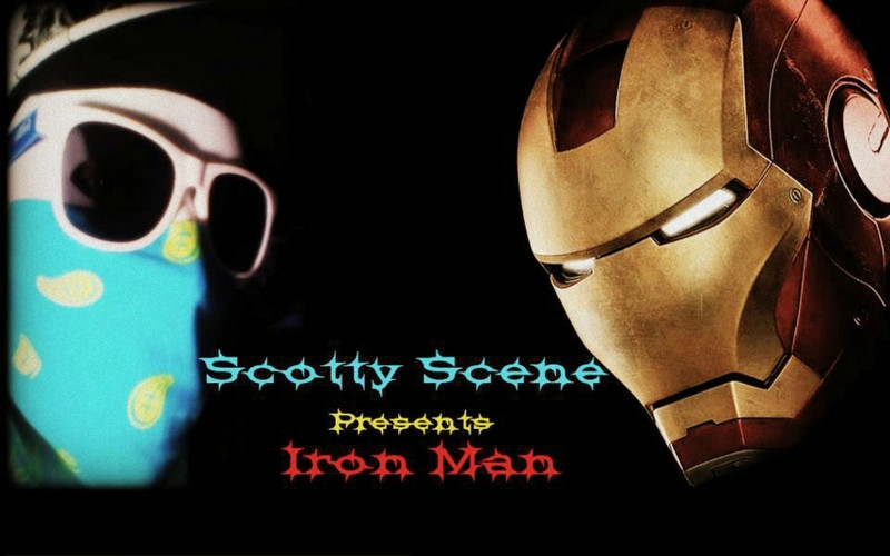 Free Scotty Scene Iron Man phone wallpaper by scottysceneofficial