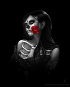 Day Of The Day - Sugar Skull Girl wallpaper 1