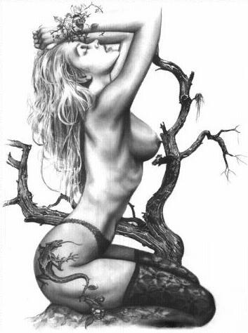 Free Tattoo-design-of-girl-14154h.jpg phone wallpaper by breetears