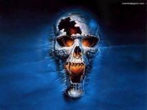 Free Cool skull pic.jpg phone wallpaper by djrocketman