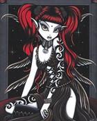 Goth fairy.jpg wallpaper 1