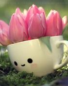 tulip girl.jpg wallpaper 1