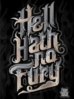 Free hell hath no fury phone wallpaper by greyarea