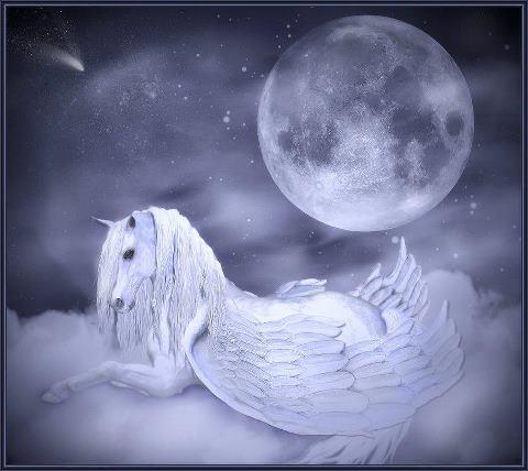 Free fantasy unicorn phone wallpaper by starrr72