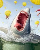 Shark Feast wallpaper 1