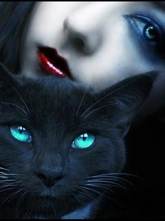Free cat eyes  phone wallpaper by randyshottie22