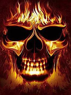 Free Fire Skull.jpg phone wallpaper by twifranny