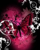 Dark Pink Butterfly.jpg