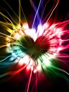 Free Glowing Heart..jpg phone wallpaper by twifranny