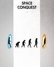 Free Evolution of Portal phone wallpaper by palipride47