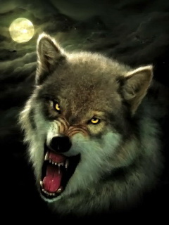 Free nightbreed-wolf-art.jpg phone wallpaper by twifranny
