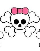 Skull w/ Bow