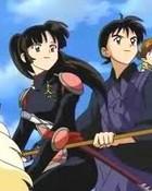 Sango & Miroku & Shippo