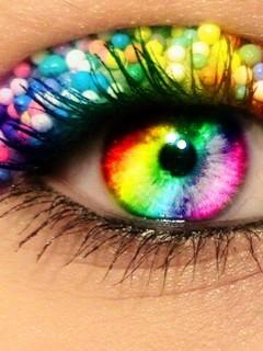 Free Rainbow Eye.jpg phone wallpaper by twifranny