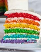 Yummy Rainbow Cake wallpaper 1