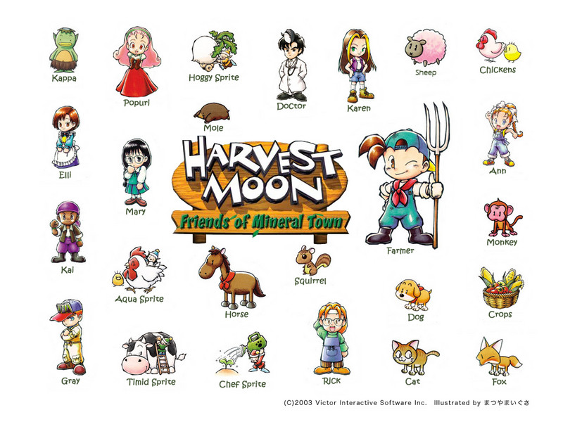 Free Harvest Moon The Game phone wallpaper by foreverdrarry