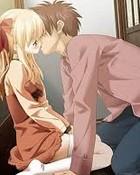 Anime Couple Kissing wallpaper 1
