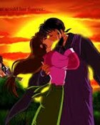 Sango & Miroku's Kiss