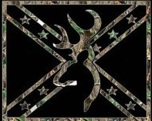 Free Browning Buck Camo Flag phone wallpaper by OrissaNaria