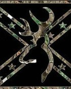 Browning Buck Camo Flag