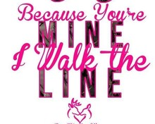 Free I walk the line phone wallpaper by OrissaNaria