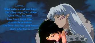 Free Kagome and Sesshomaru phone wallpaper by foreverdrarry