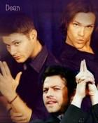 Sam, Dean, and Castiel