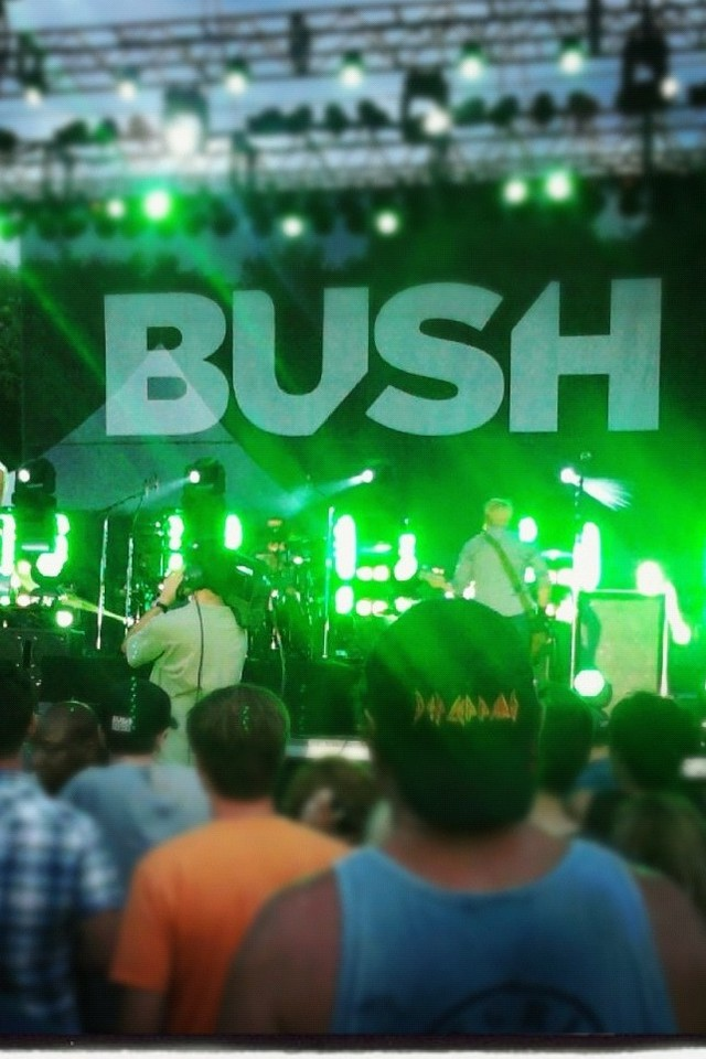 Free Bush Live at Common Ground phone wallpaper by tabit24