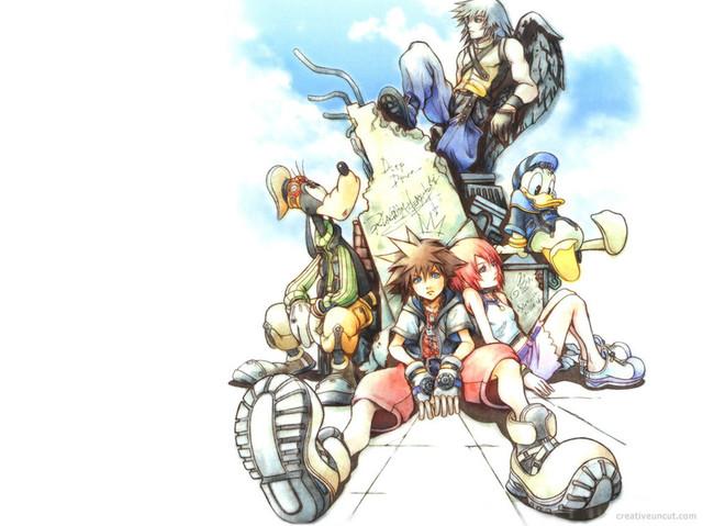 Free Kingdom Hearts: Final Mix phone wallpaper by spiderfreak90