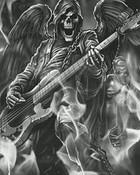 rockin skull