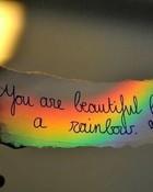 Beautiful like a rainbow